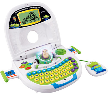 VTech Buzz Lightyear Star Command Laptop