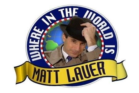 we spy matt lauer!