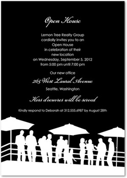 White party invite