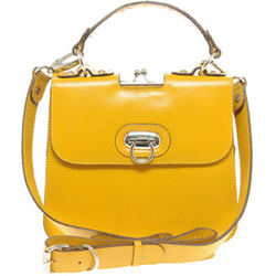 Yellow cross-body bag