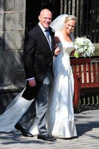 No honeymoon for Zara Phillips