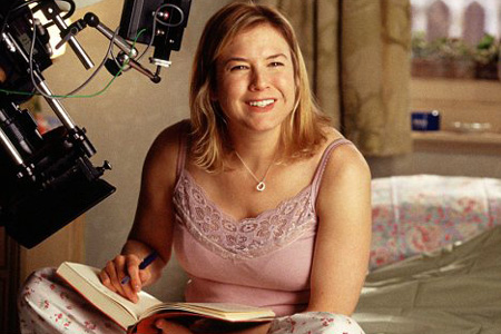 Renee Zellweger in Bridget Jones Diary