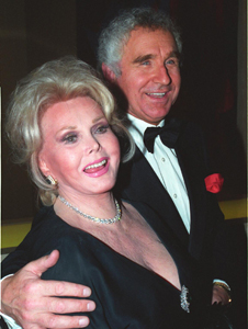 Zsa Zsa Gabor: party animal