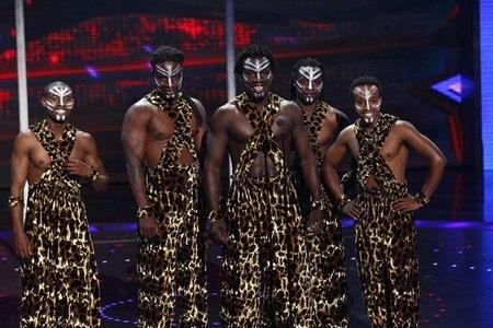 Sam B. busts a move on America's Got Talent