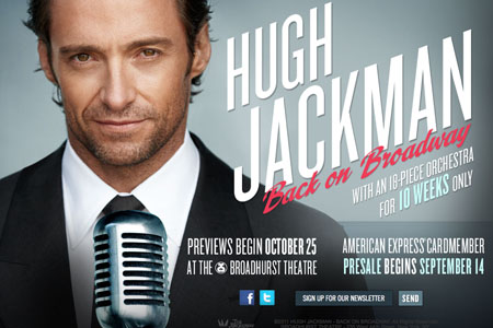 Hugh Jackman going Back to Broadway