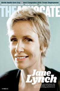 Jane Lynch in The Advocate