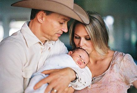 Life on the ranch with Ty, Jewel & baby