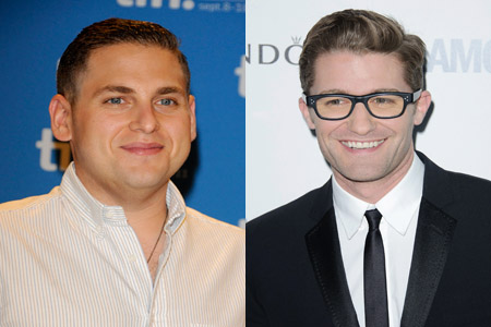 JOnah Hill and Matthew MOrrison feud heats up