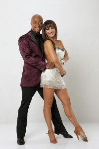 Karina Smirnoff and JR Martinez