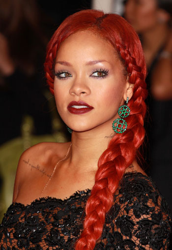 rihanna braid