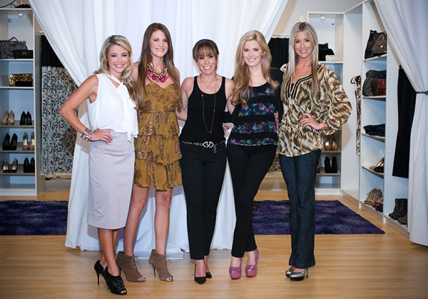 Melissa Rivers behind the scenes with SheKnows