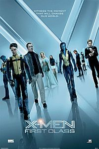 X-men: First Class comes home, with Jennifer Lawrence (Hunger Games) as a young Mystique