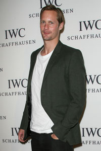 Alexander Skarsgard hits on the ladies in the Hamptons