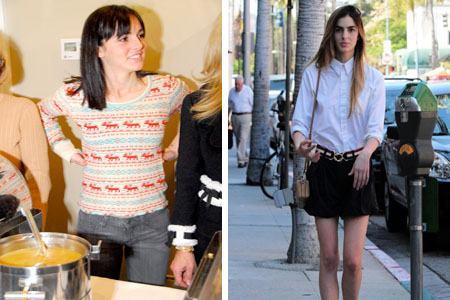 Ali Lohan is shockingly thin