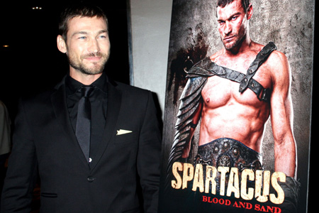 Andy Whitfield loses his battle with cancer