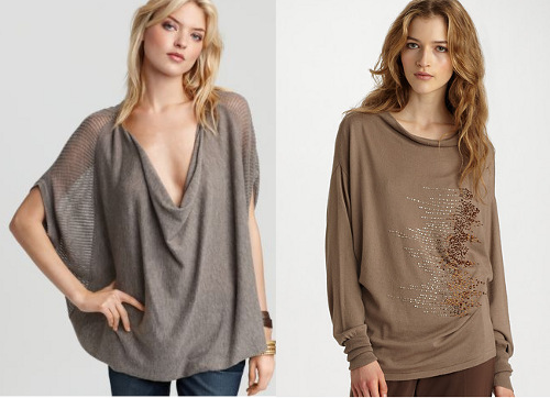 Fall sweaters for apple body shapes