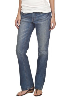 Bargain buy: Mossimo bootcut premium denim jeans ($25 at Target)