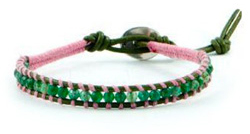 The Chan Luu for Breastcancer.org bracelets