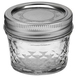 Reusing glass jars