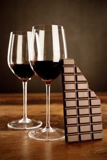 Chocolate & wine: The perfect match