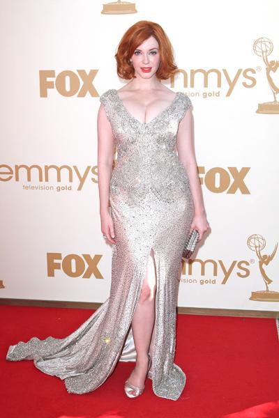 Christina Hendricks' Mad Emmy look
