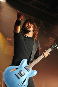 Dave Grohl Glee comments