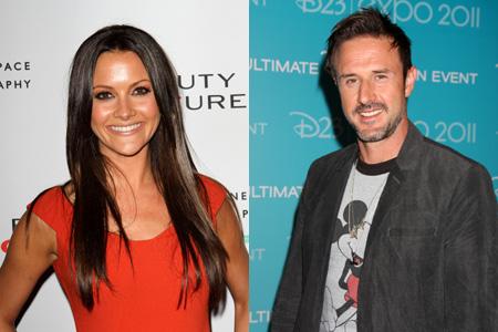David Aquette dating Christina McLarty