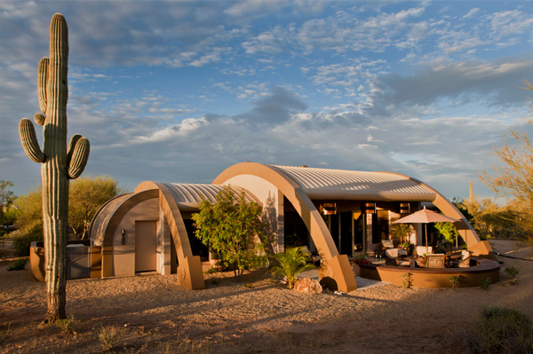 Dome desert home