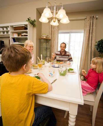 Dinnertime conversation starters