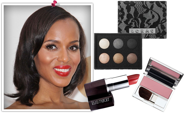 Kerry Washington Emmy makeup look