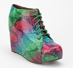 Colorful snakeskin