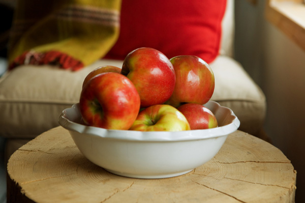 Fall fruit bowl