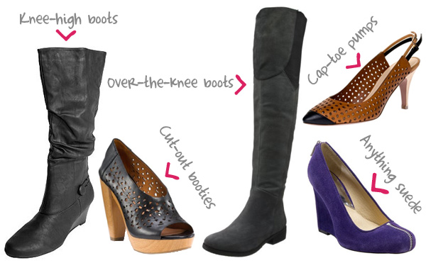 types of high heels