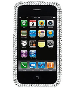Crystal cellphone case