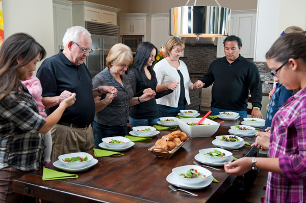Family gratitude circle
