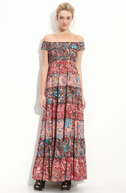 Seen here: Free People floral cascade maxi dress ($198, Nordstrom)