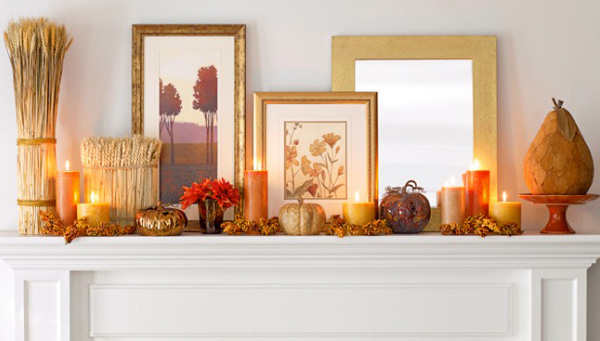 Homegoods mantel ideas
