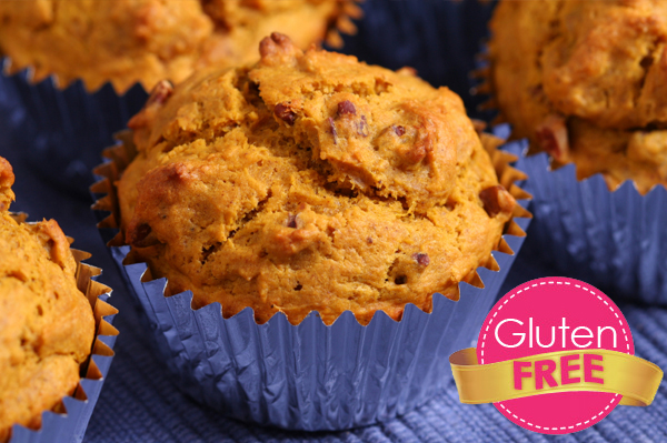 Gluten-free Friday: Pumpkin chocolate chip muffins