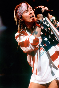Guns N'Roses frontman Axel Rose