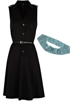 Seen here:Asos dress & Bop Basics beaded belt