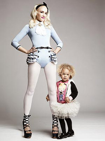 Gwen Stefani debuts Harajuku Mini