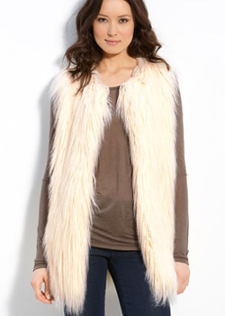 Hawke & Co. Faux Fur Vest