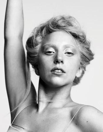 Lady Gaga in Harper's Bazaar