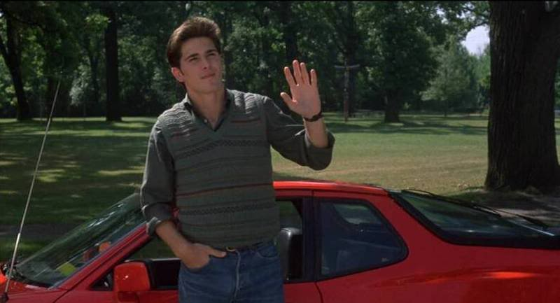 Jake Ryan from Sixteen Candles