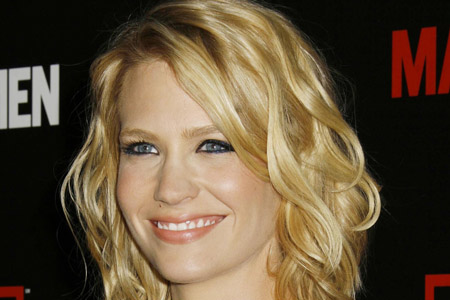 January Jones gives birth to a son