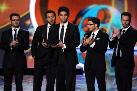 Entourage cast at Primetime Emmys 2011