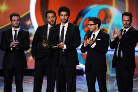 Entourage cast at Primetime Emmys 2011