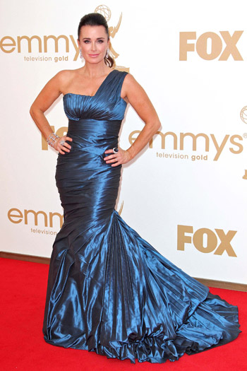 Kyle Richards Worst Dressed Emmys