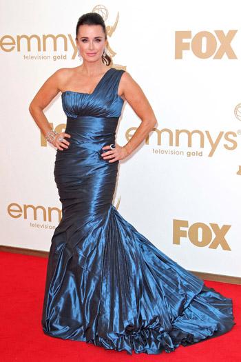 Kyle Richards Worst Dressed Emmys