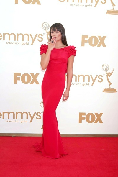 Glee's Best Emmy Fashions